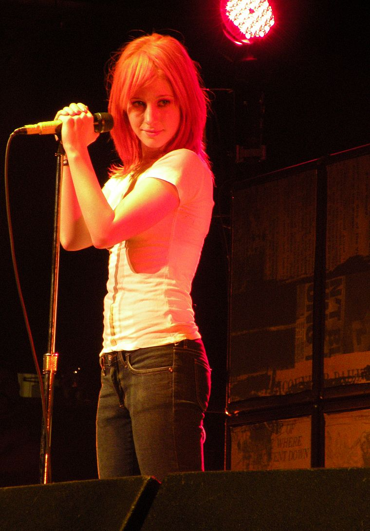 Hayley Williams, Paramore, music, celebrity, singers - desktop wallpaper