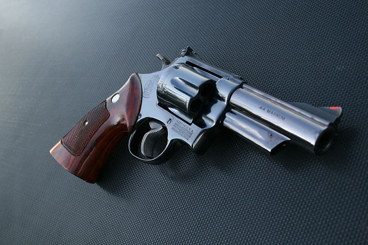 pistols, guns, revolvers, weapons, Smith and Wesson - desktop wallpaper