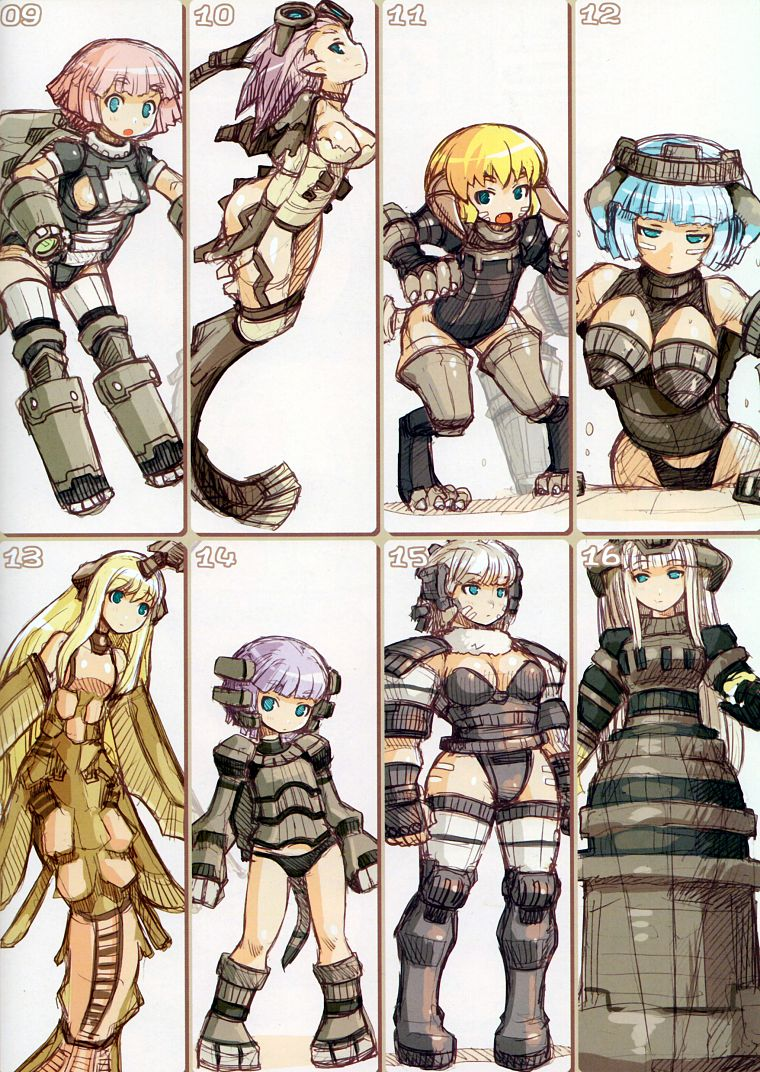 blondes, Shadow of the Colossus, anime, anime girls ...