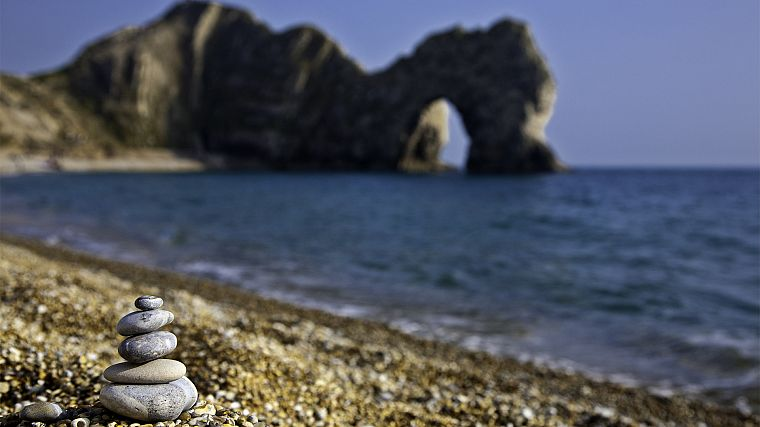 ocean, landscapes, England, arch, Durdle Door, Geography, beaches - desktop wallpaper