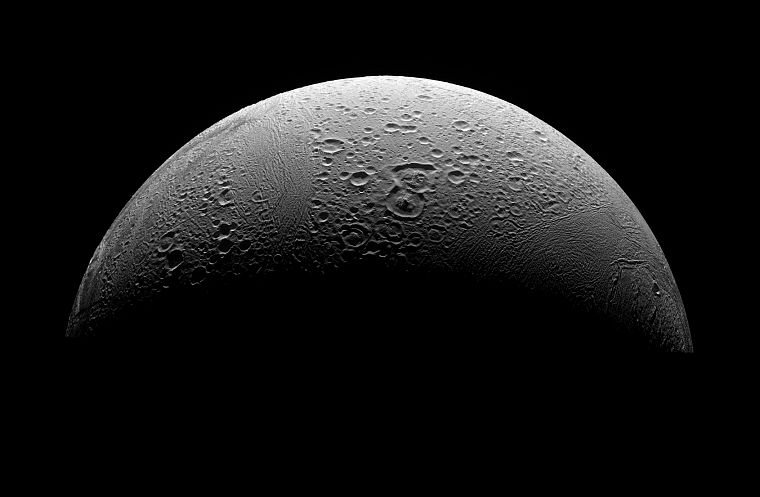 Moon, Enceladus - desktop wallpaper
