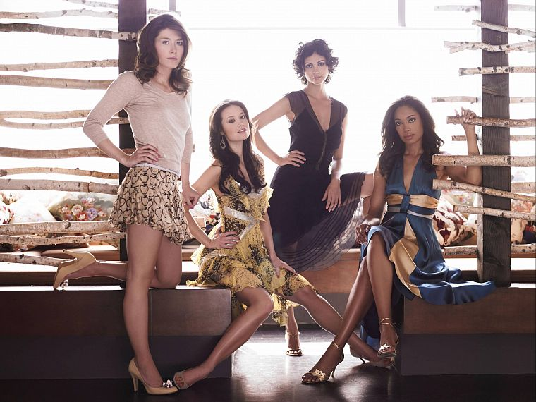 women, Summer Glau, Firefly, Jewel Staite, Morena Baccarin, Gina Torres - desktop wallpaper