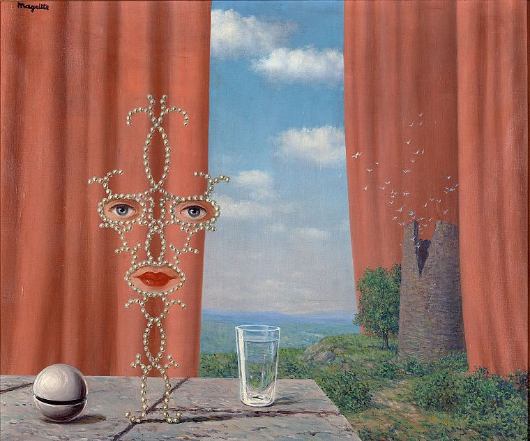 Rene Magritte - desktop wallpaper