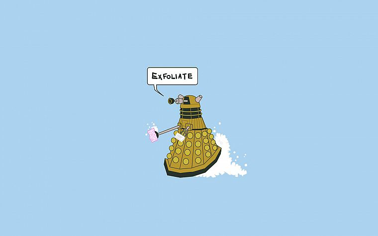 exterminate, Doctor Who, Daleks - desktop wallpaper