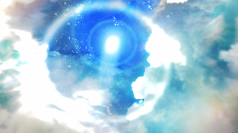 video games, blue, clouds, Sun, tower, Aion, skyscapes - desktop wallpaper