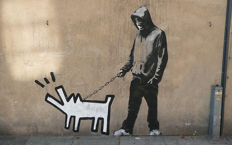 Banksy Street Art 2 Wheel Drive
