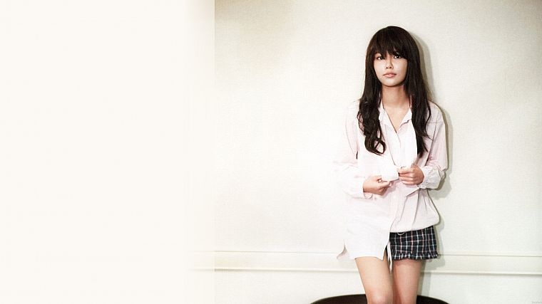 women, music, Girls Generation SNSD, Asians, Korean, Choi Sooyoung, K-Pop, bangs - desktop wallpaper
