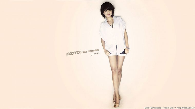 women, Girls Generation SNSD, celebrity, Choi Sooyoung, bangs - desktop wallpaper