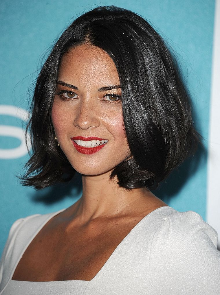 women, Olivia Munn, freckles - desktop wallpaper