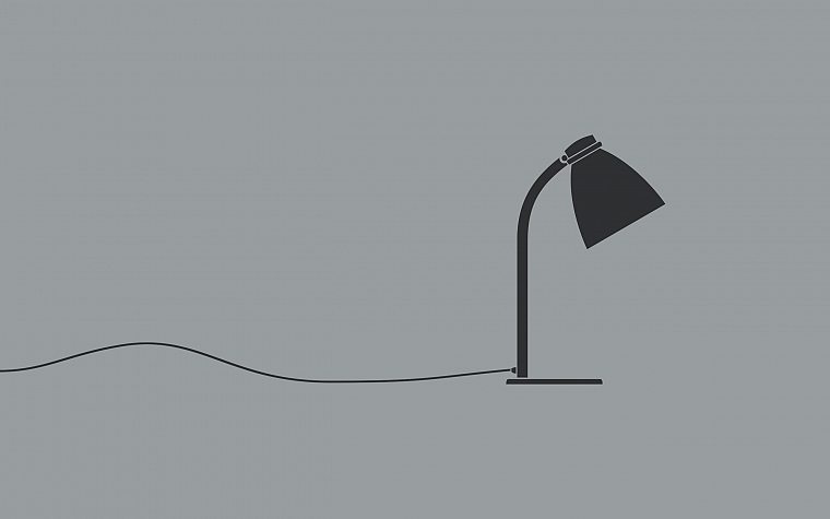 minimalistic, lamps - desktop wallpaper