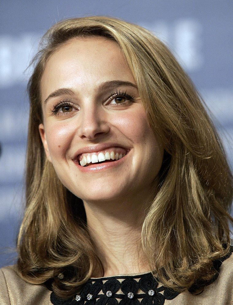 blondes, women, actress, Natalie Portman, faces - desktop wallpaper
