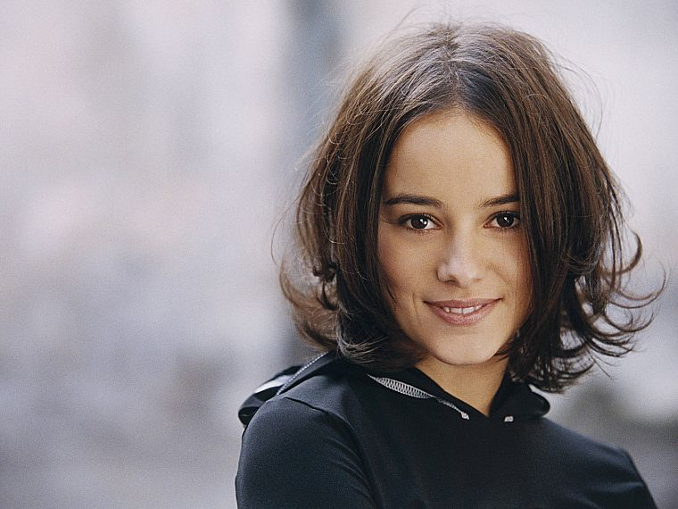 brunettes, women, Alizée, singers, French - desktop wallpaper