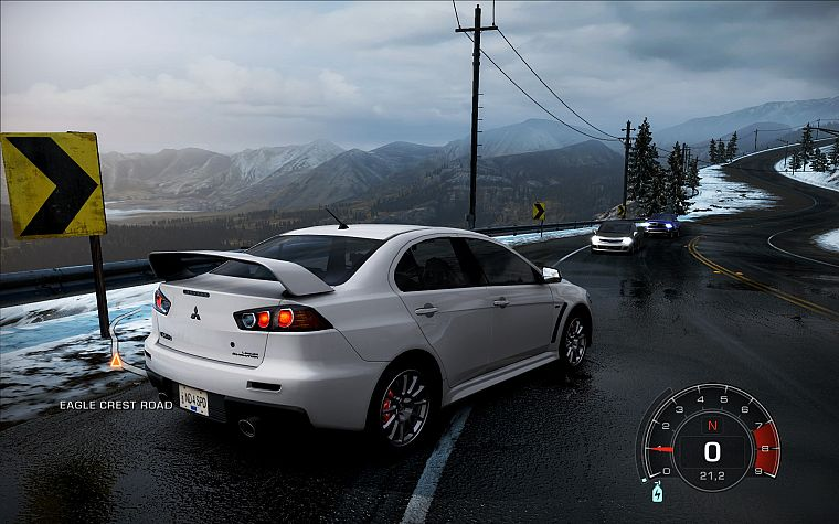 video games, cars, Mitsubishi, Need for Speed Hot Pursuit, Lancer Evo X, JDM Japanese domestic market, pc games - desktop wallpaper