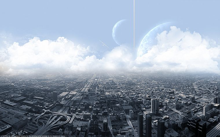 cityscapes, science fiction, cities - desktop wallpaper