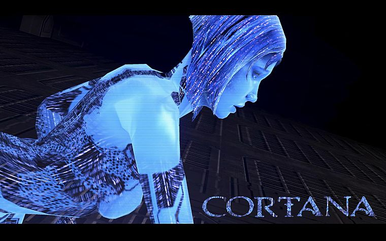 Cortana, Halo - desktop wallpaper