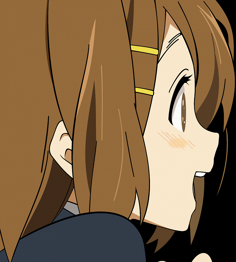 K-ON!, transparent, Hirasawa Yui, anime, anime vectors - desktop wallpaper