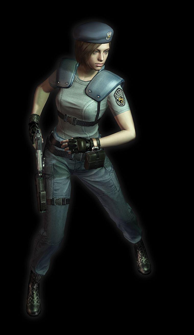 Video Games Resident Evil Jill Valentine Free Wallpaper