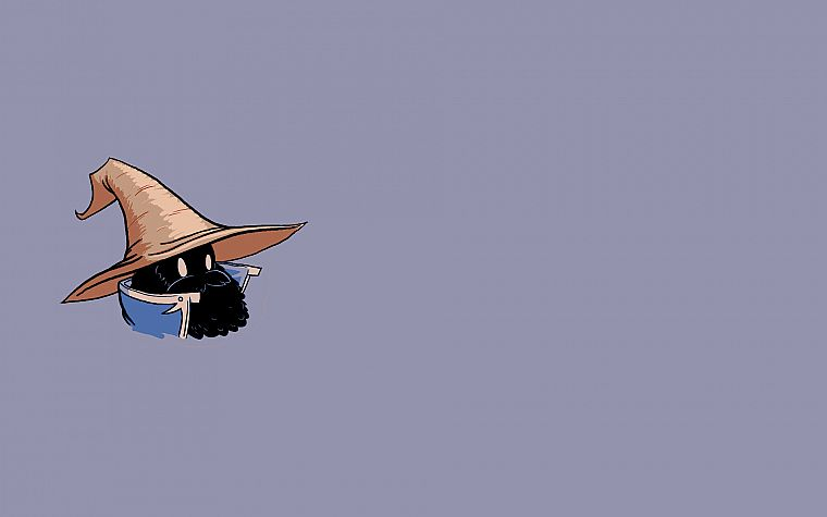 Black Mage - desktop wallpaper