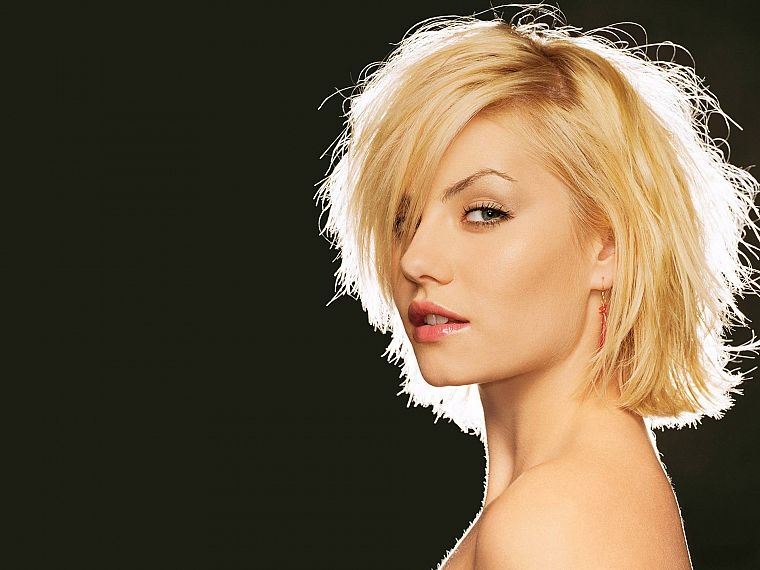 blondes, women, Elisha Cuthbert, actress, celebrity, faces - desktop wallpaper