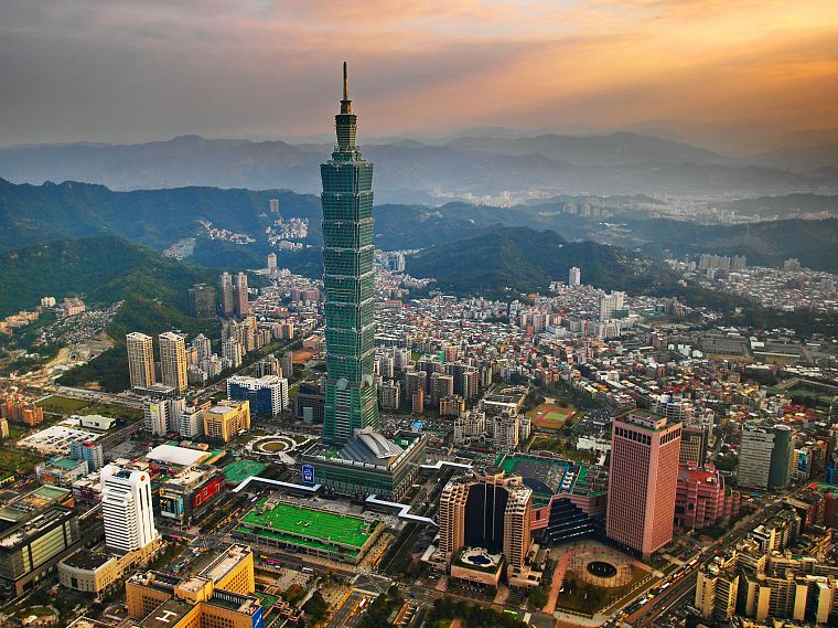 cityscapes, Taiwan, Taipei 101, cities - desktop wallpaper