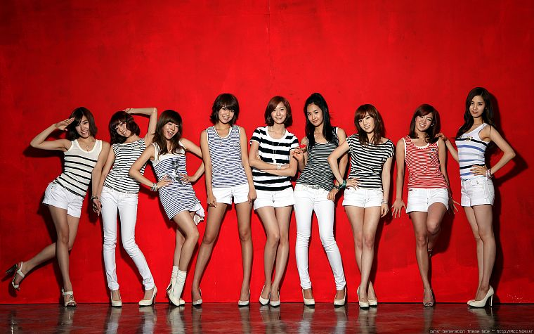 women, Girls Generation SNSD, celebrity, high heels, Korean - desktop wallpaper