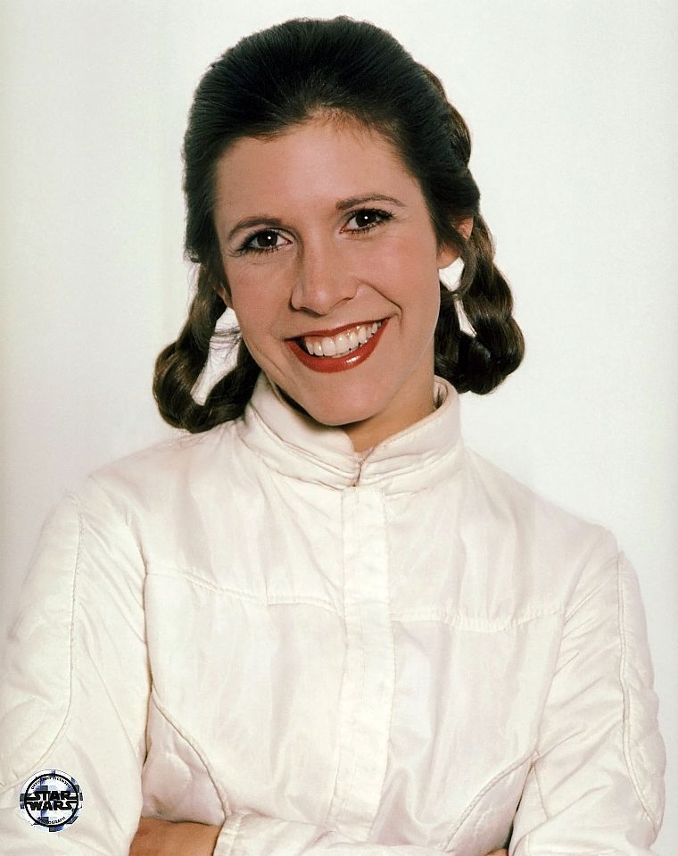 Star Wars Carrie Fisher Leia Organa