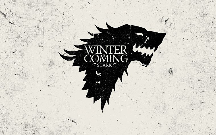 Game of Thrones, TV series, Winter is Coming, arms, House Stark - desktop wallpaper