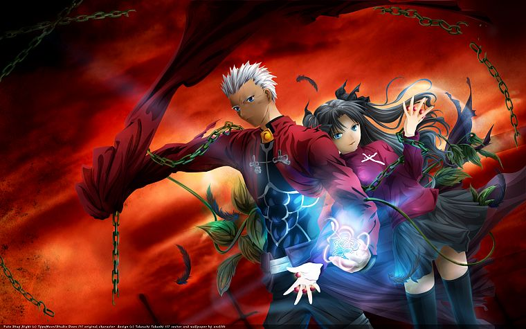 Fate Stay Night Tohsaka Rin Archer Fate Stay Night Fate