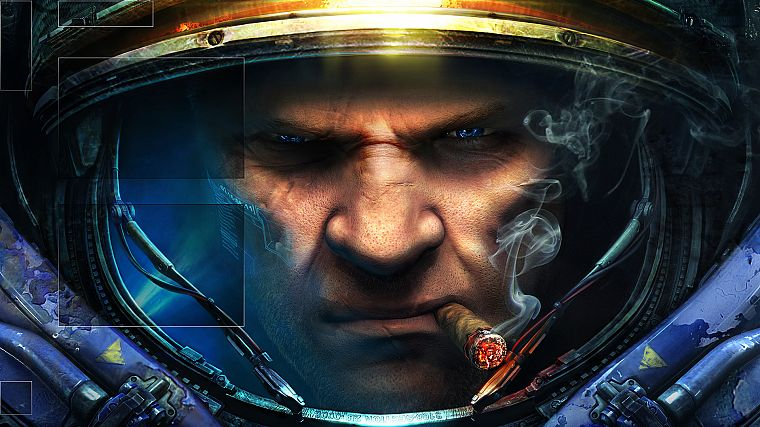 video games, StarCraft II, Tychus Findlay - desktop wallpaper