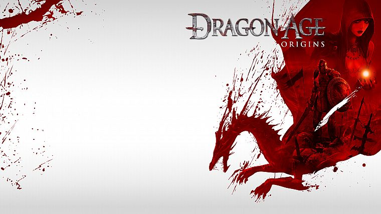 dragons, Dragon Age, Dragon Age Origins - desktop wallpaper