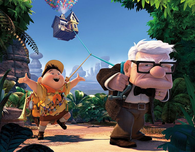 cartoons, Pixar, Disney Company, Up (movie) - desktop wallpaper