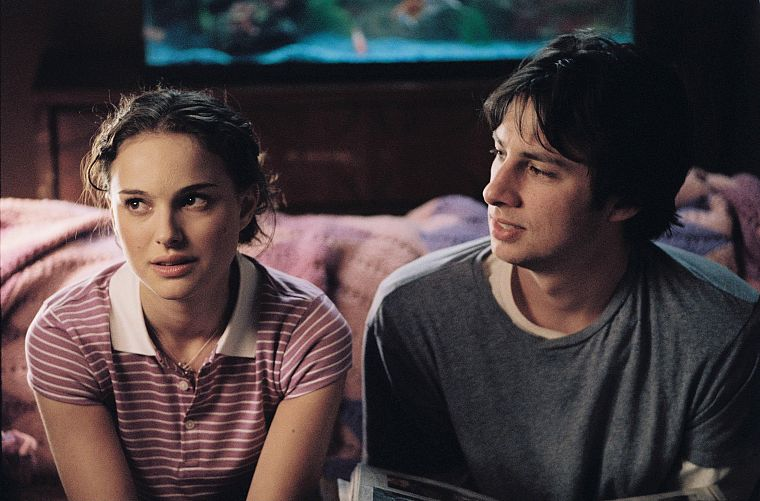 actress, Natalie Portman, screenshots, Zach Braff, Garden State - desktop wallpaper