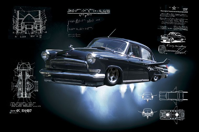 movies, cars, Black Lightning, GAZ Volga, russian cars, Russians - desktop wallpaper