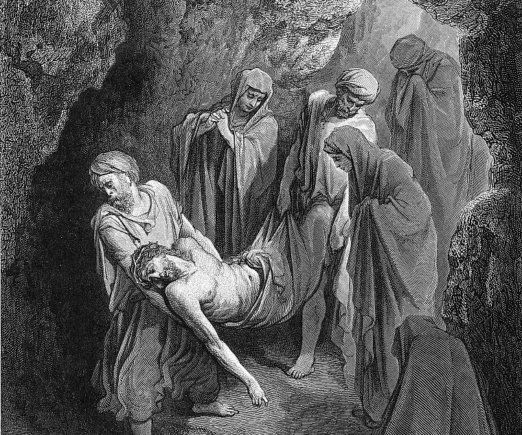 Jesus Christ, artwork, Gustave  Dore - desktop wallpaper