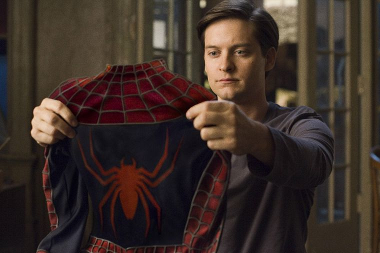 movies, comics, Spider-Man, superheroes, Tobey Maguire - desktop wallpaper