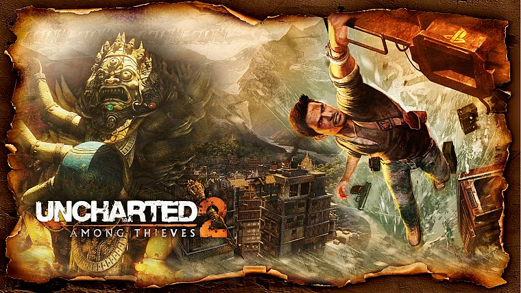 video games, Uncharted, Nathan Drake - desktop wallpaper