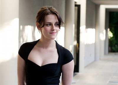women, Kristen Stewart, actress, black dress - related desktop wallpaper