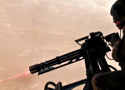 shooting, Afganistan, Door gunner, AIRCOM, M134D - duplicate desktop wallpaper