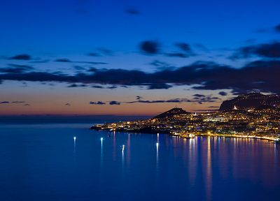 coast, cityscapes, architecture, buildings, Portugal, Funchal, Madeira - random desktop wallpaper