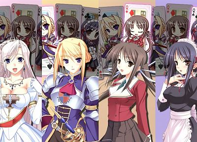 brunettes, blondes, Princess Lover - desktop wallpaper
