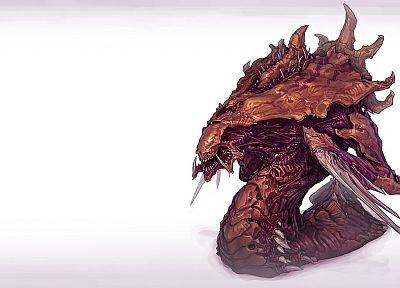 video games, StarCraft, Zerg, Hydralisk, artwork - related desktop wallpaper