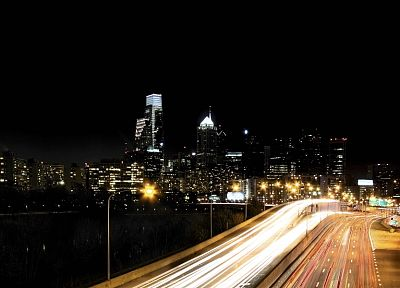 cityscapes, streets, skylines, Philadelphia - desktop wallpaper