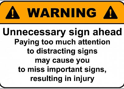 signs, funny, notice - desktop wallpaper