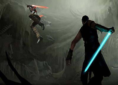 Star Wars, outer space, Star Wars: The Force Unleashed - desktop wallpaper