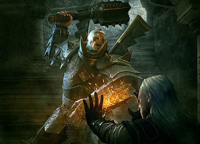 video games, The Witcher 2: Assassins of Kings, mutant knight - random desktop wallpaper