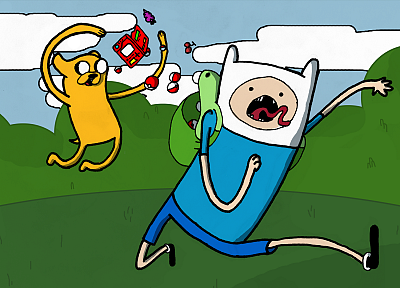 Adventure Time with Finn and Jake - related desktop wallpaper