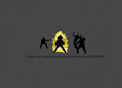 ninjas, ninjas cant catch you if, Dragonball - related desktop wallpaper