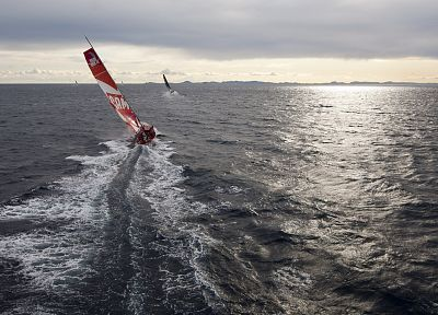 ships, vehicles, sailboats, Volvo Ocean Race - random desktop wallpaper