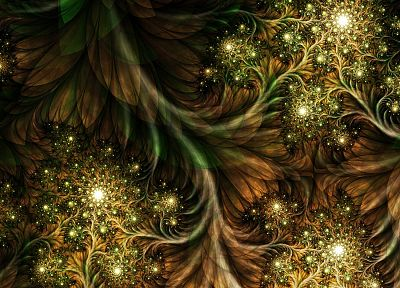 abstract, nature, fractals - random desktop wallpaper