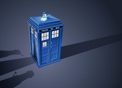 TARDIS, Dalek, Doctor Who - desktop wallpaper